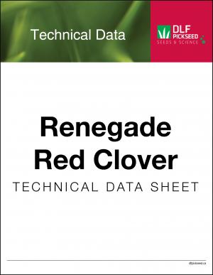 Tech Sheet – Renegade Red Clover
