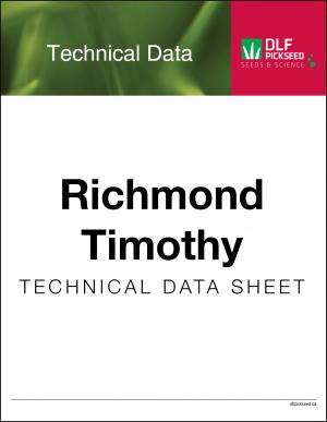 Tech Sheet – Richmond Timothy