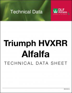 Tech Sheet – Triumph HVXRR Alfalfa