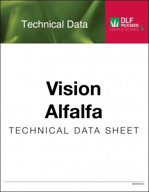 Tech Sheet – Vision Alfalfa