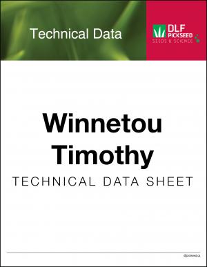Tech Sheet – Winnetou Timothy
